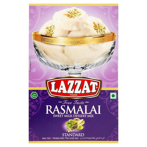 Lazzat Rasmalai Sweet Milk Dessert Mix
