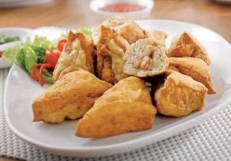 Tahu Bakso (Chicken meat ball inside Tofu)