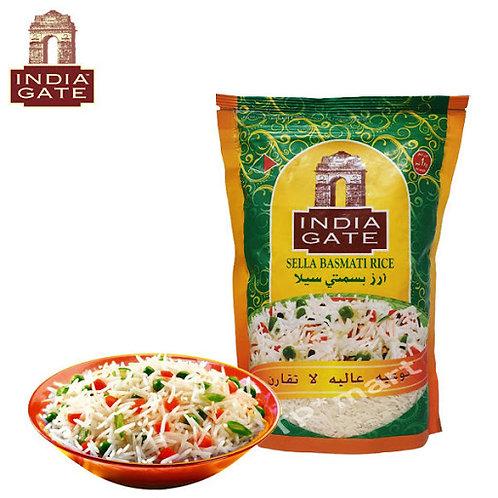Basmati Sella Rice India Gate - 1Kg