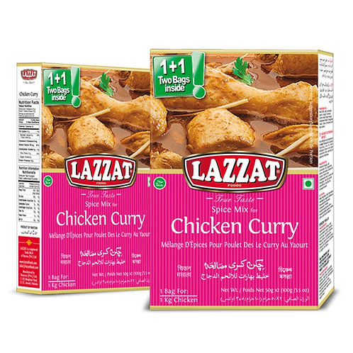 Chicken Curry (Lazzat, 100g)