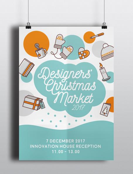 Christmas Market Poster