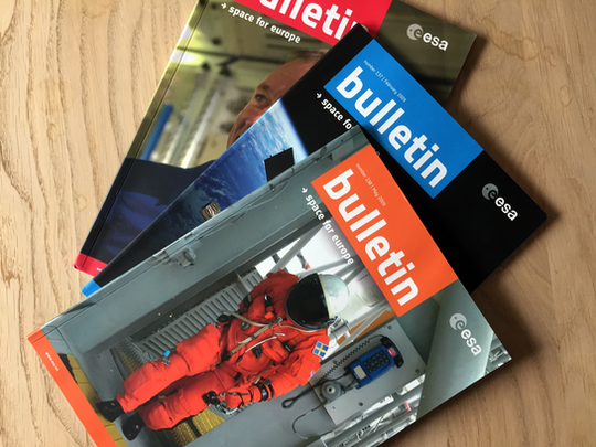 EUROPEAN SPACE AGENCY - Bulletin