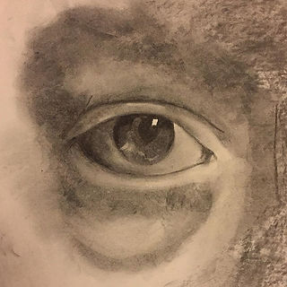 Quick charcoal eye study #charcoal #sketch #realism #eye #drawing #drawings #charcoalart #charcoaldr