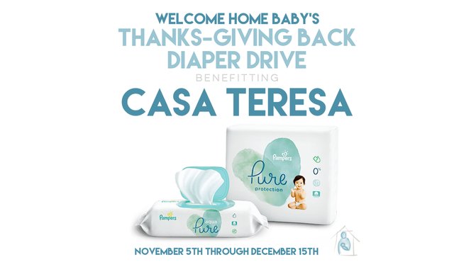 Thanks-Giving Back Diaper Drive