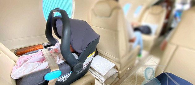Flying with your newborn!