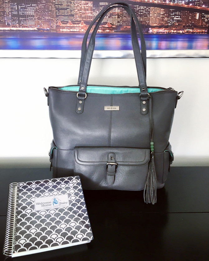 My latest baby gear love: The Lily-Jade Meggan Diaper Bag