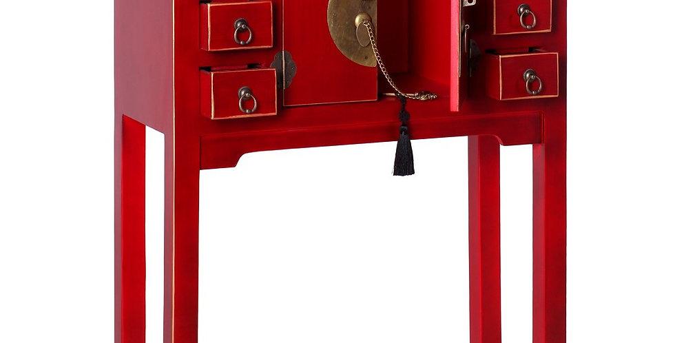 Mueble auxiliar Yakarta rojo