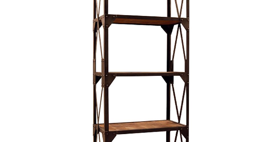 Librero hierro madera Ajaya