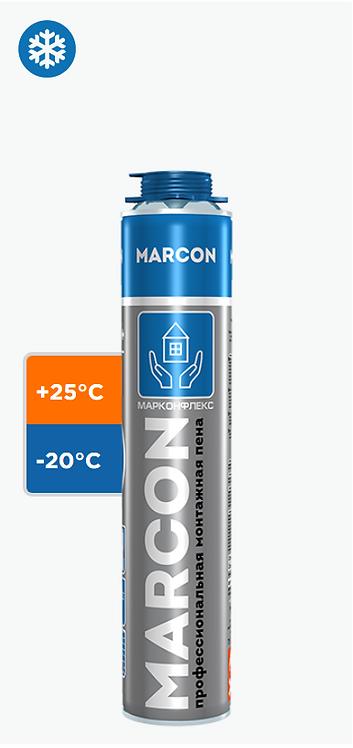 Пена монтажная MARCON PRO 65+, зимняя