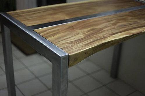 Live edge Fijian Rainwood kitchen table