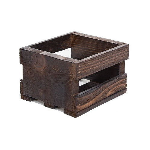 Tiny Wood Crate