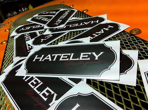 Hateley Motorsports Sticker
