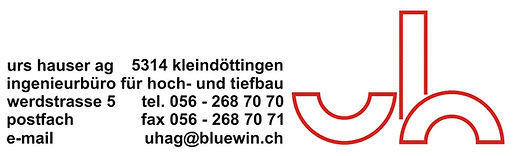 Urs Hauser AG, Bauingenieur, Bauleitung, Bauberatung
