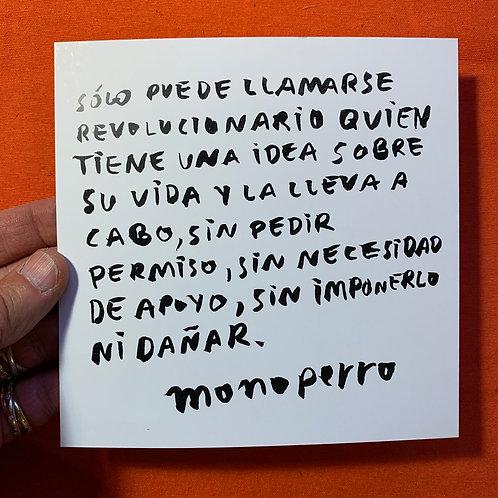 Lámina #cancamusas - Revolucionario.