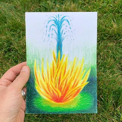 El agua del fuego
