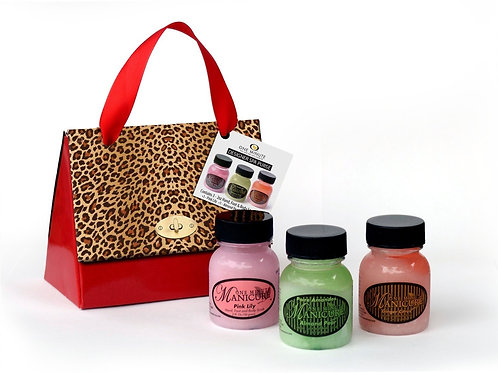 Red Leopard Designer Spa Purse