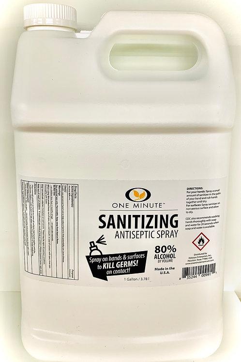 One Minute Sanitizing Antiseptic - Gallon