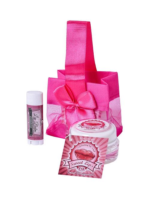 Pomegranate Lip Care Set