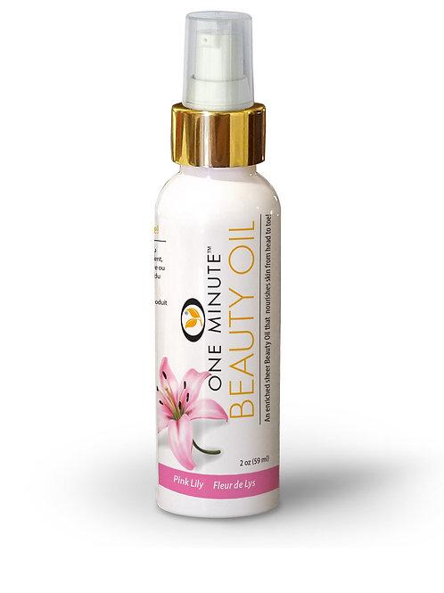 2oz Pink Lily Beauty Oil