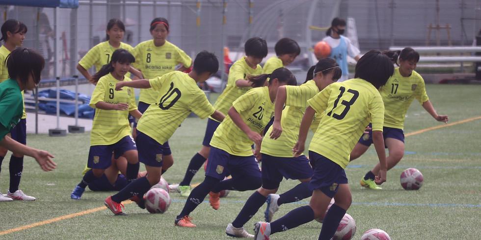 2021年度 新女子中学1年生体験会 U-15  第3回