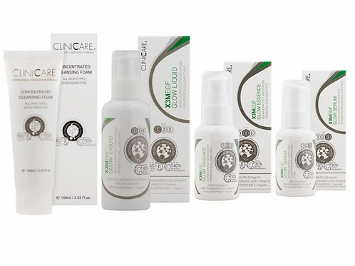 Clinicare X3M EGF Glow Range Collection