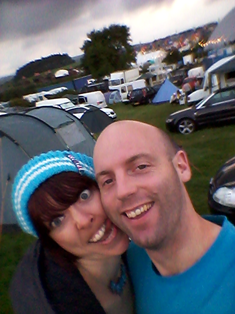 Mel & Dom at Beatherder.
