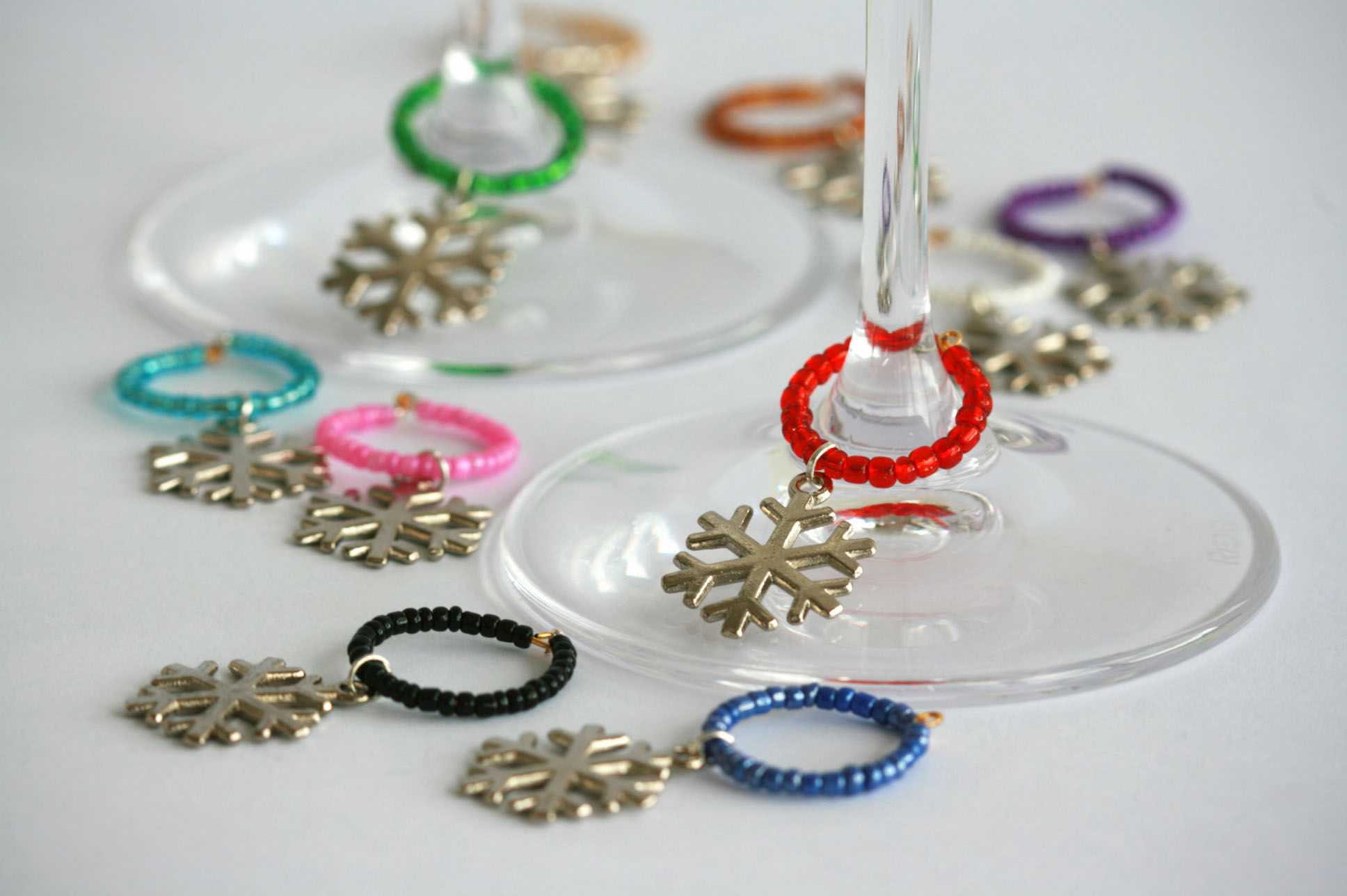 Wine Glass Charms.