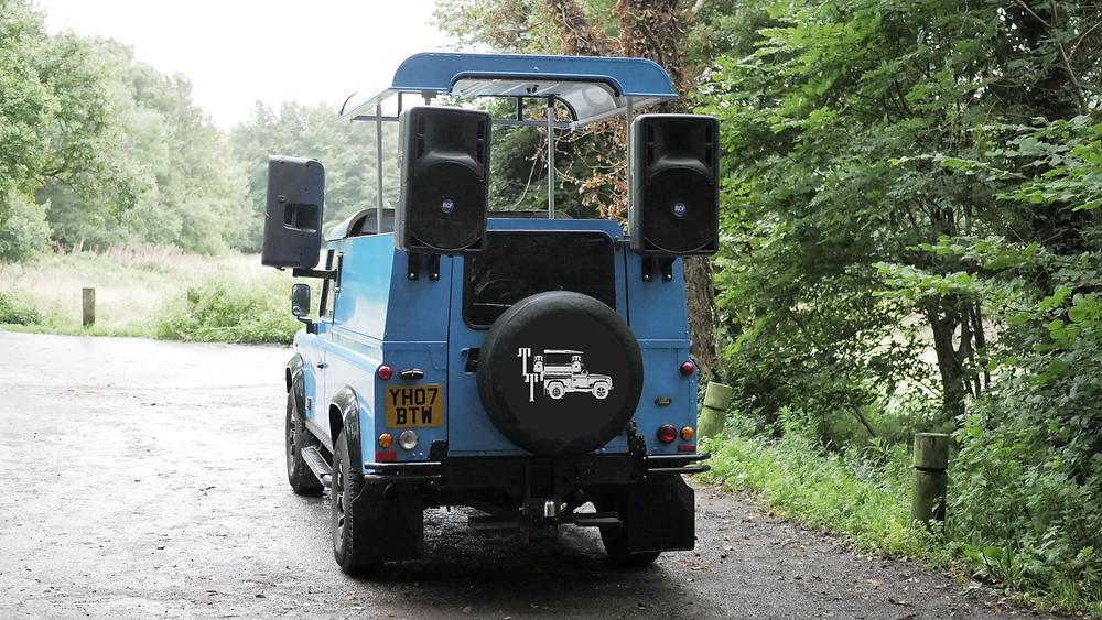Tune Trucks Mobile DJ Truck