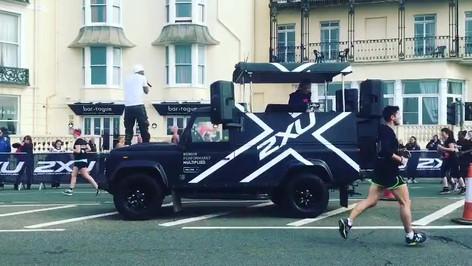 2XU at Brighton Marathon
