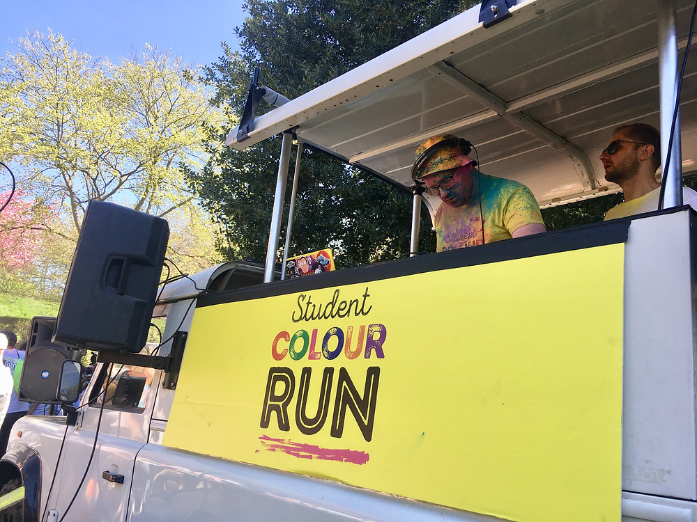 Tune Trucks DJ Truck Student Colour Run