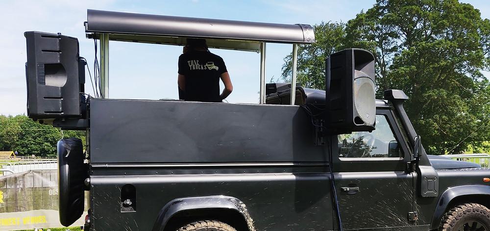 Tune Trucks mobile DJ