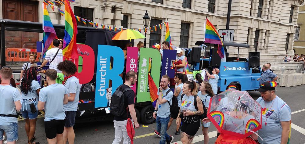 Tune Trucks at London Pride 2019