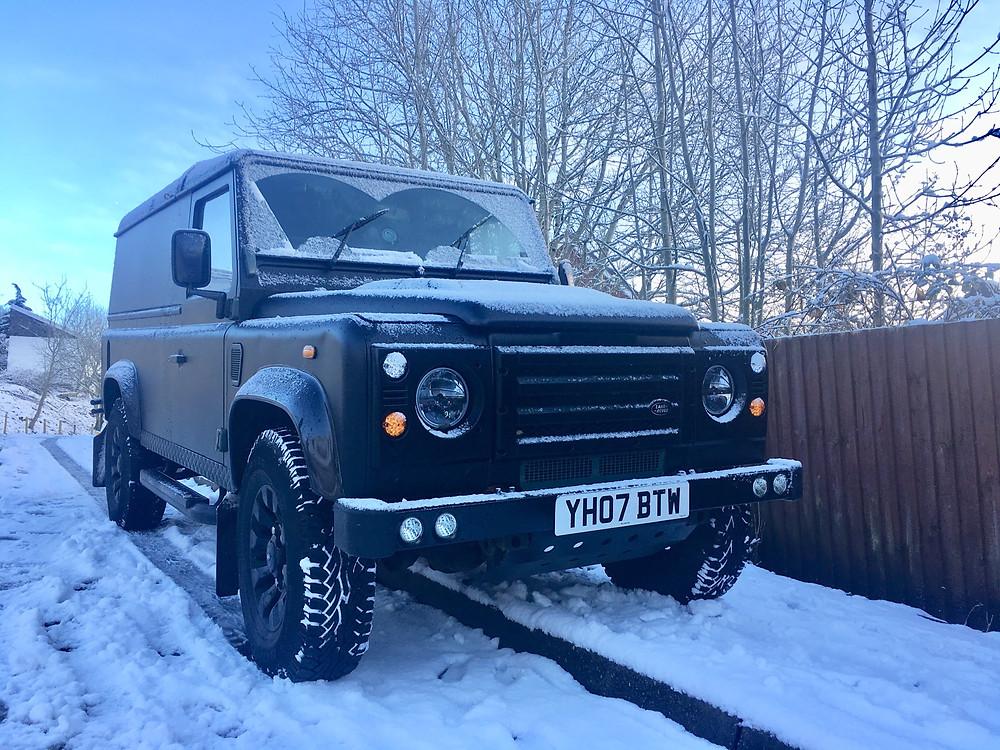 Tune Trucks mobile DJ snow all weather terrain