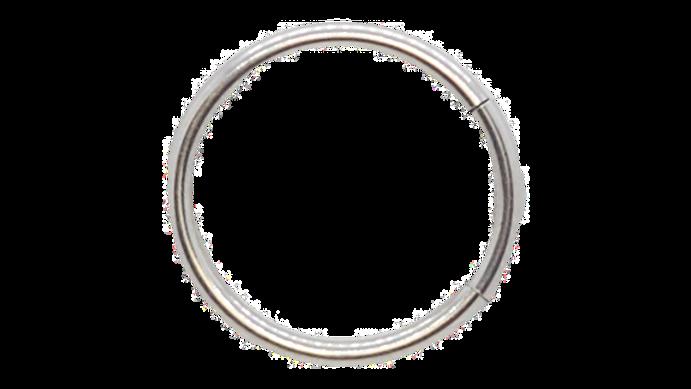 Сегментное кольцо 1.2х8 мм из титана G23
