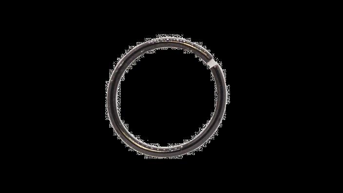 Кольцо 0,8х8 мм цвет черный