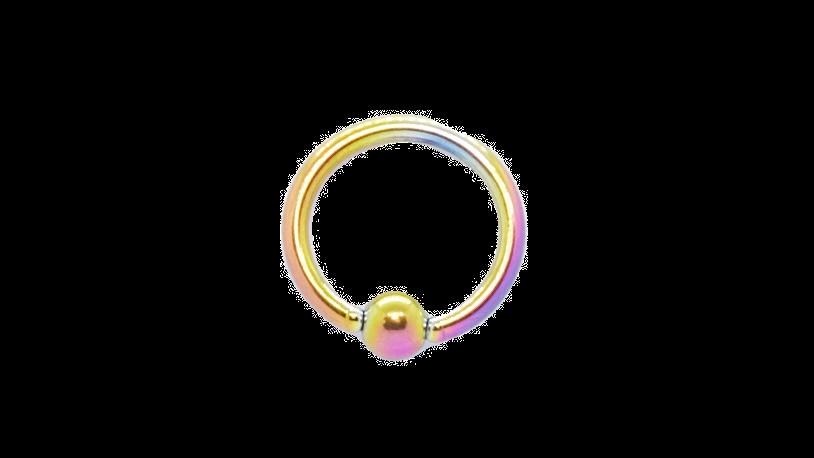 Кольцо для пирсинга хирургическая сталь 3*8*1,2 мм