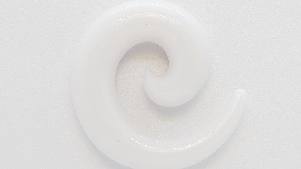 Расширитель спираль акриловый белый