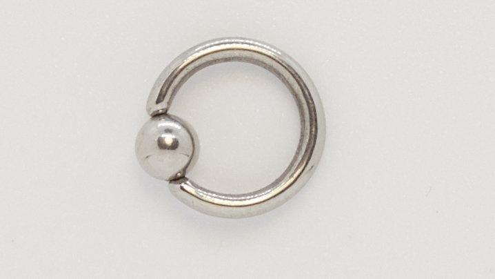 Кольцо замкнутое 4*5*2 мм. хирургическая сталь