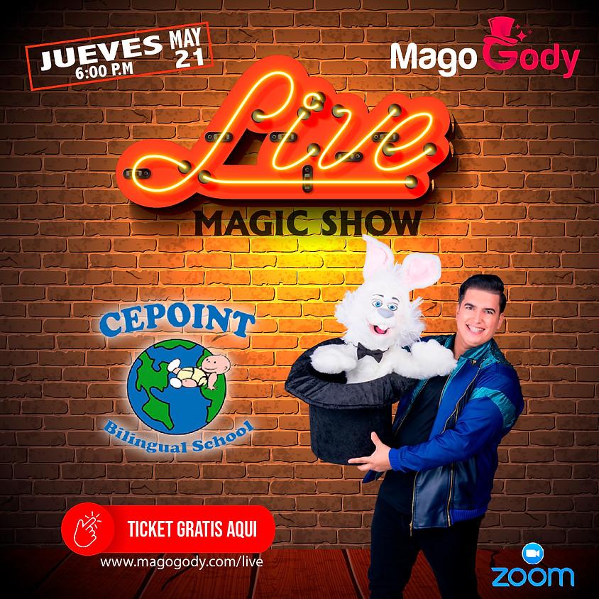 "Live Magic Show Mago Gody ""Cepoint"""