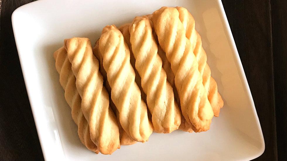 Vegan Vanilla Tea Biscuits