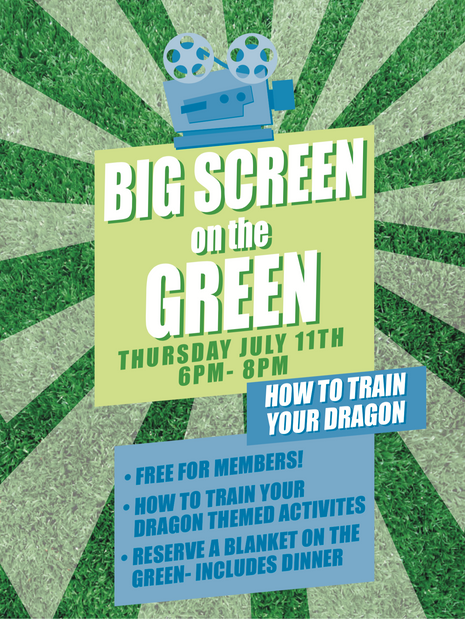 Big Screen On the Green- Flyer
