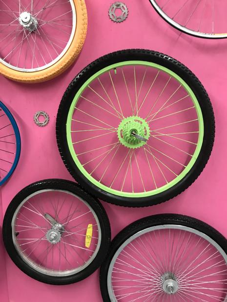 Bikes in Motion Exhibit- Social Media