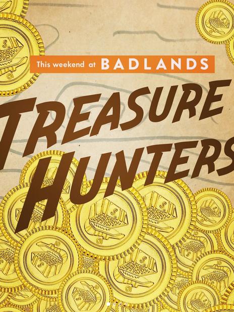 Treasure Hunters Weekend Programming- Social Medai