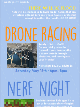 Wacky Weather Week and Drone Racing- Email