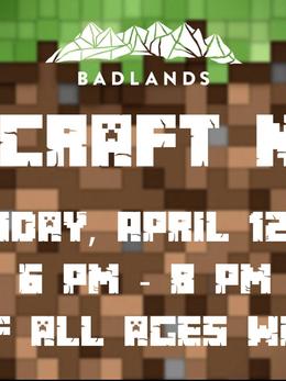 Minecraft Nerf Night- Social Media