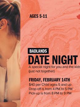 Valentine's Dat4e Night Drop Off- Digital Signage
