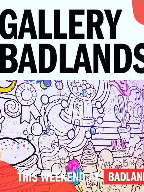 Gallery Badlands Exxhibit Opening- Social Media