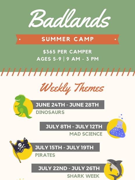 Summer Camp- Social Media