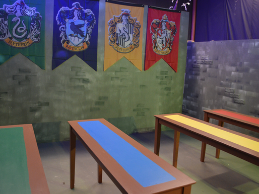 Holidays at Hogwarts Exhibit