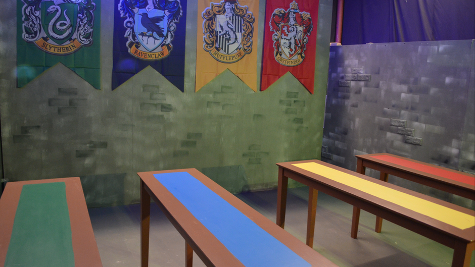 Holidays at Hogwarts Exhibit